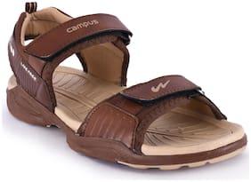 Campus Men Beige Sandals
