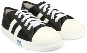 Do Bhai Black Casual Shoes