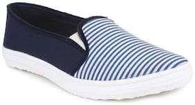 Do Bhai Women Blue Casual Shoes