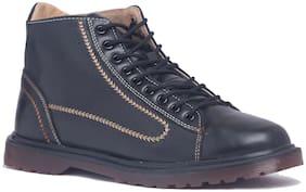 Enso Men Black Canvas Shoes