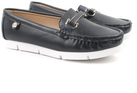 Carlton London Black Women Loafers