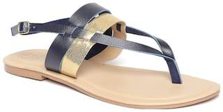 Carlton London Women Navy blue Sandals