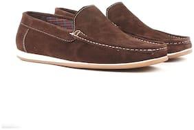 Carlton London Men Brown Loafer - Carlton London Black Men Casual Shoes