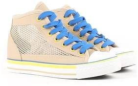 Carlton London Women Tan Sneakers
