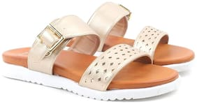 Carlton London Women Gold Sandals