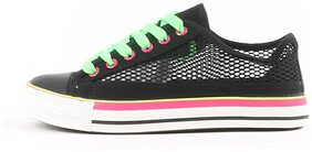 Carlton London Women Black Sneakers