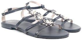 Carlton London Women Black Sandals