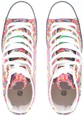 Carlton London Women Red Sneakers