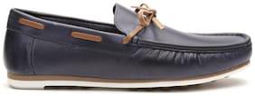 Carlton London Men Navy Blue Loafer - Clm-1425navy