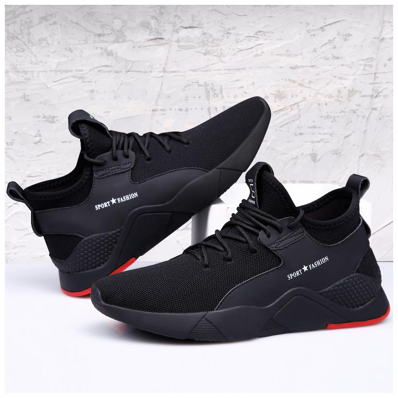 Castoes Black Sports Shoes For Men