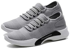 Castoes Grey Sports Shoes for Men