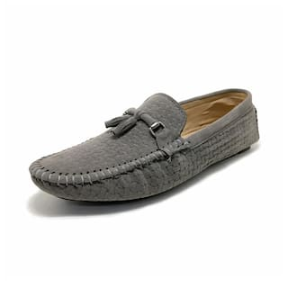 Castoes Men Grey Loafers - 215GY