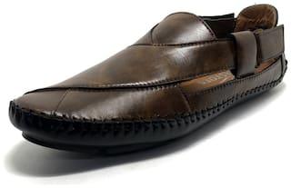 Castoes Men Brown Sandals