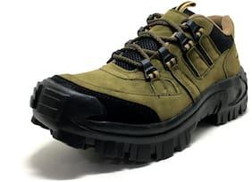 Castoes Men Green Outdoor Boots - OUTDOOR BOOTS - 550GR