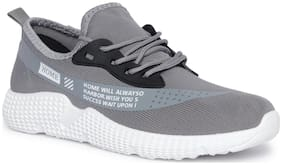 Enso Imported Men's Grey Sports Shoes