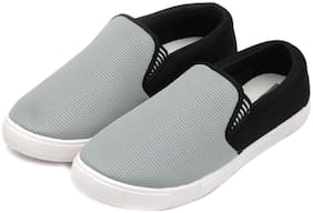 Men Silver Casual Shoes