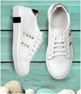 CatBird Women New Latest Design White Casual Shoes