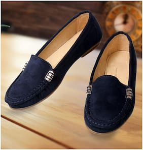 CatBird Women Stylish Blue Loafers