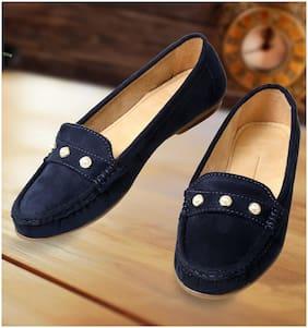 CatBird Women Stylish Blue Loafers