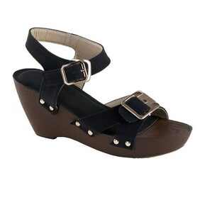 Catbird Women Black Wedges