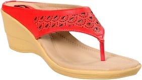 CatBird Women New Design Red Wedges
