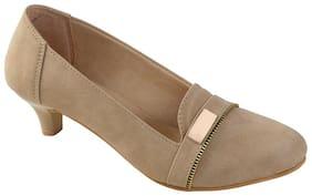 Catbird Women Stylish Cream Heels
