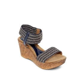 Catwalk Blue Wedges