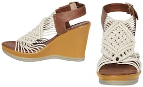 Catwalk Beige Wedges
