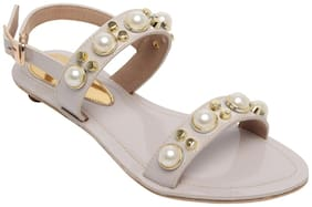 Catwalk Beige Sandals