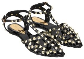 Catwalk Black Sandals