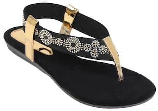 7ffdb76e4 Buy Catwalk Black Sandals Online at Low Prices in India - Paytmmall.com