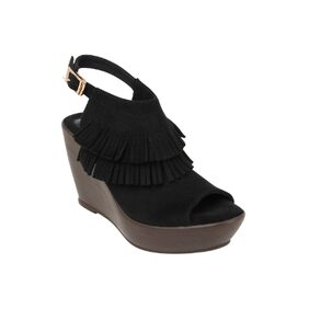 Catwalk Black Wedges