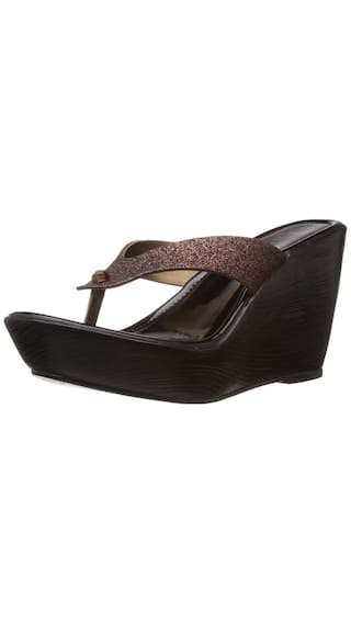 be23548ee2 Buy Catwalk Bronze Wedges Online at Low Prices in India - Paytmmall.com