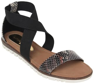 Catwalk Black Sandals
