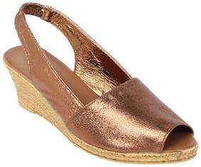 Catwalk Copper Sandals