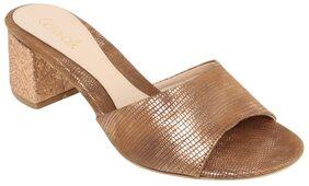 Catwalk Copper Heels