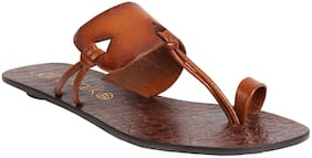 Catwalk Women Brown Flipflops