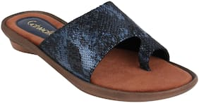 Catwalk Women Blue Flipflops