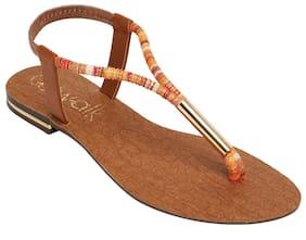 Catwalk Orange Sandals