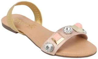 Catwalk Women Pink Sandals