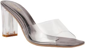 Catwalk Women Silver Pumps