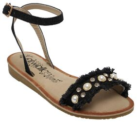 Catwalk Black Flats