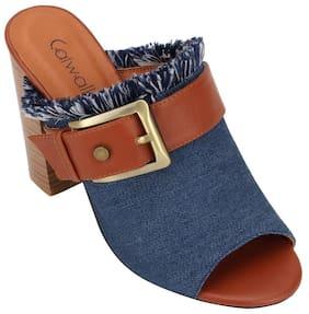 Catwalk Blue heels