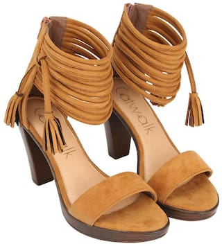 Catwalk Tan Pumps