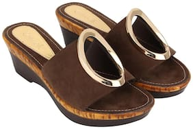 Catwalk Brown Wedges