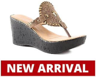 Catwalk Women Brown Wedges