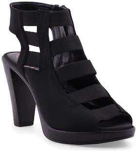 Catwalk Women Black Peep toes
