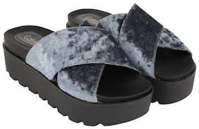 Catwalk Grey Wedges
