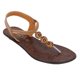 Catwalk Tan Sandals