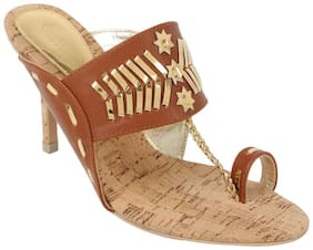 Catwalk Tan Heels